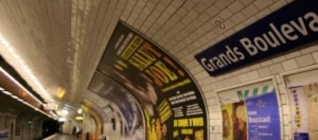 Station de métro Grands Boulevards (Paris)