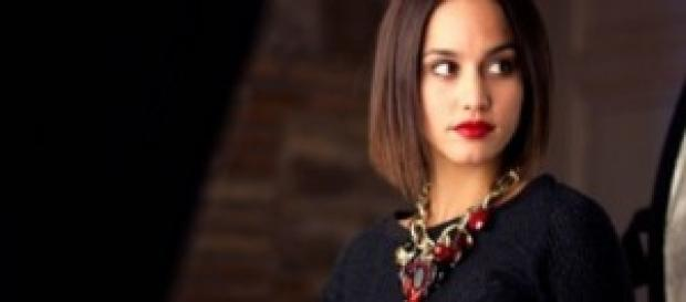 Megan Montaner la protagonista de Il segreto.