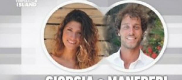 Temptation Island anticipazioni:Manfredi e Giorgia