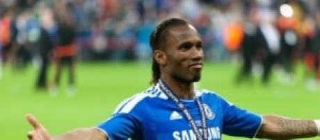 Il centravanti Didier Drogba