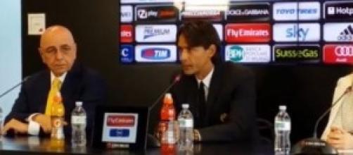 Amichevoli estive del Milan: Filippo Inzaghi