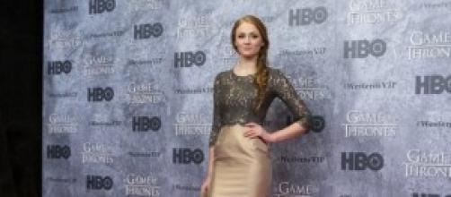 La actriz en la presentación de la 3ª temporada.