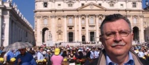 Maroglio all'Udienza Generale con Papa Francesco