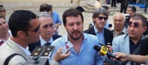 Matteo Salvini (Lega) contro amnistia e indulto