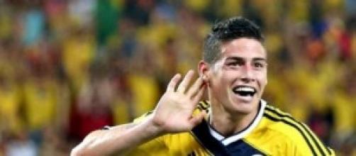 """""""James"""" Rodríguez, nueva estrella del Real Madrid"""