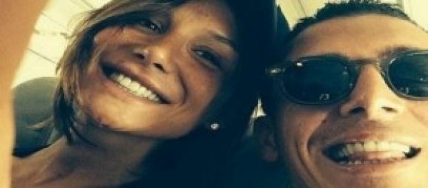 Claudio D'Alessio in vacanza con Nicole Minetti.