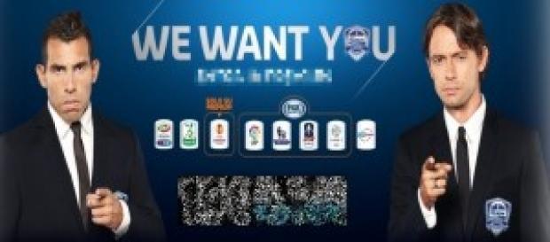 We Want You la promo Mediaset Premium.