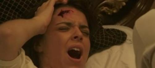 Gregoria, aggredita e ferita, perderà il bambino.