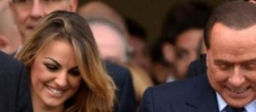 Silvio Berlusconi e Francesca Pascale insieme.