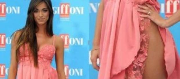 Lorella Boccia sexy spacco come Belen Rodriguez