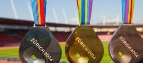 As medalhas a disputar em Zurique