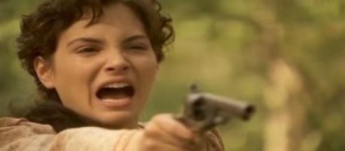 Anticipazioni Il Segreto: Enriqueta spara