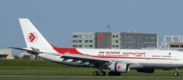 l'avion de la compangie Air Algérie