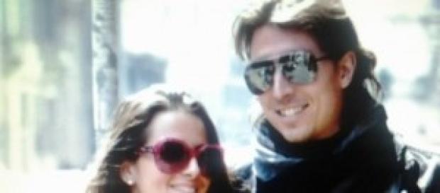 Riccardo Montolivo e Cristina De Pin