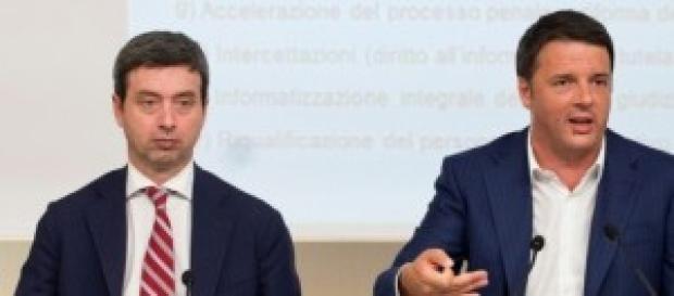 Riforma giustizia, indulto: Orlando e Renzi