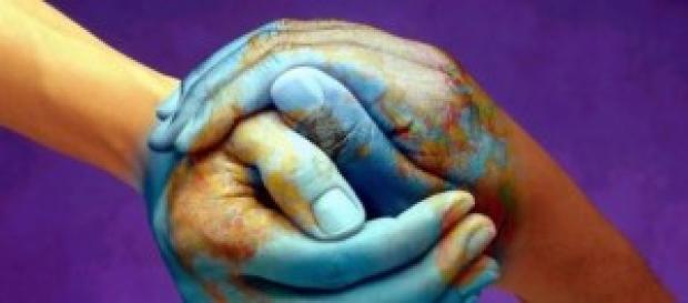 Un'immagine suggestiva che rimanda alla pace