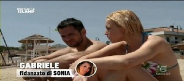 Gabriele e Sonia insieme