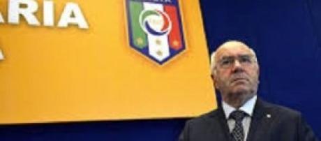 Carlo Tavecchio, candidato alla presidenza FIGC