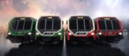 nuovi treni metro linea rossa e verde di milano