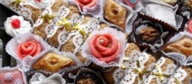 gâteaux préparés pour fêter la rupture du jeûne