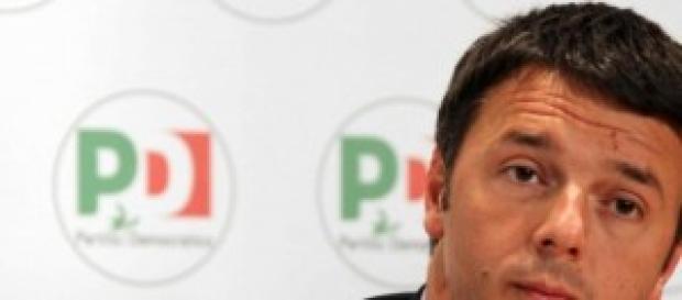 Il Premier del PD Matteo Renzi