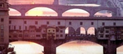 L'Arno a Firenze, culla linguistica italiana
