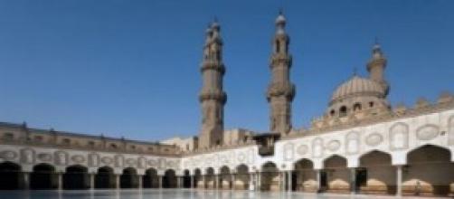 L'università di al-Azhar, cortile interno.