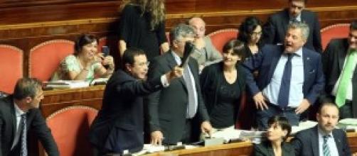 Caos in Senato, il governo Renzi reggerà?