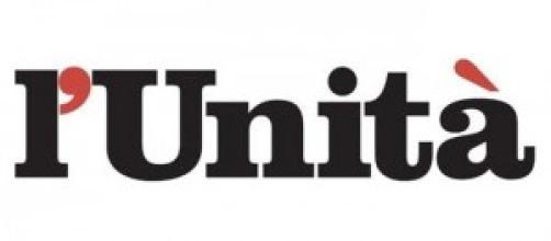 Il logo, una volta glorioso, dell'Unità