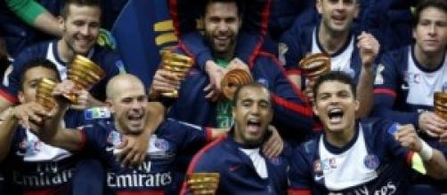 Supercoppa di Francia, PSG-Guingamp