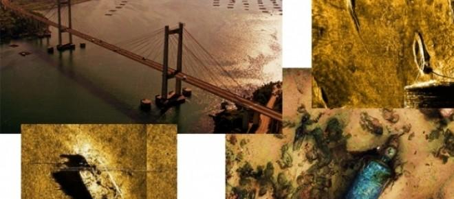 un inmenso tesoro nacional se esconde bajo las aguas del puente Rande