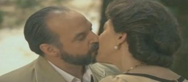 Anticipazioni Il Segreto: il bacio più bello