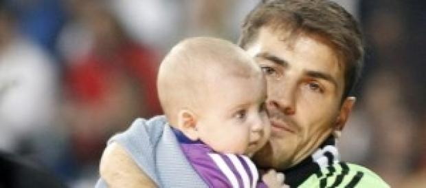 Iker y Martín Casillas. Foto: Huffington Post