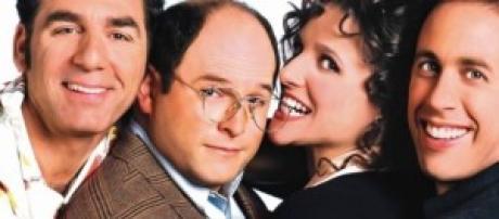 "Imagen promocional de la serie ""Seinfeld"""