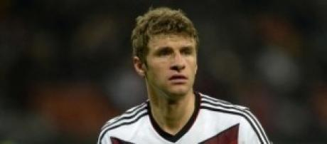 Thomas Muller, uomo decisivo per la Germania