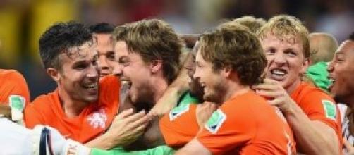 La gioia Krul e compagni dopo la vittoria