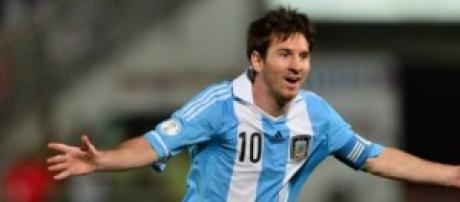 Leo Messi vuole trascinare l'Argentina in finale