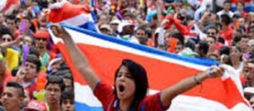 Febbre da mondiale in Costa Rica