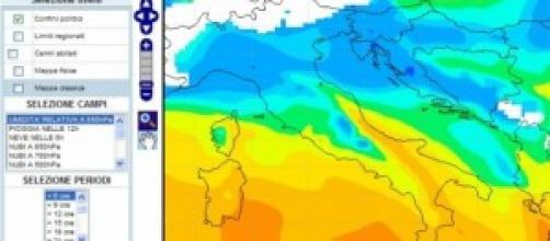 Previsioni meteo settimanali