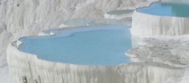Le piscine termali di Pammukale