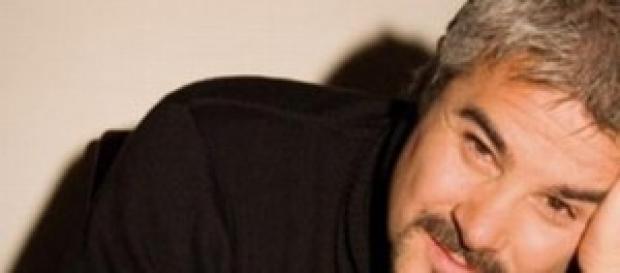 Pino Insegno sarà papà per la terza volta