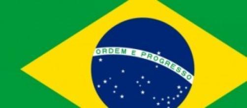 Le drapeau du Brésil - photo libre de droit