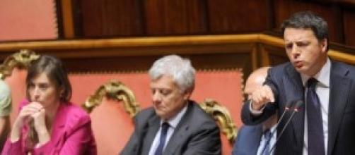 Riforme, il premier Renzi e il ministro Boschi