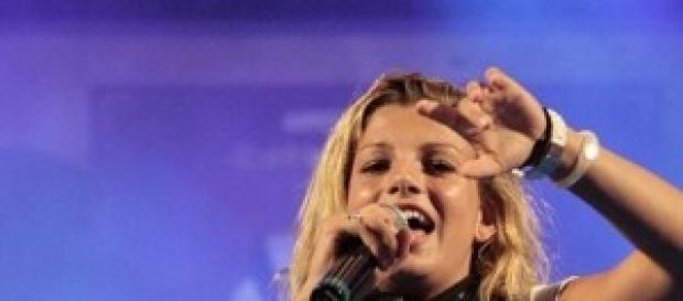 Emma Marrone in concerto.