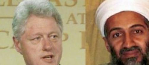 Bill Clinton ed Osama Bin Laden