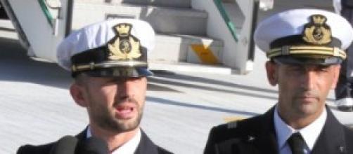I due marò italiani detenuti in India