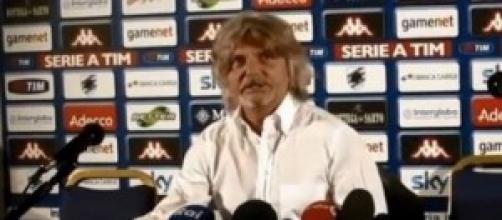 Sampdoria-Eintracht F.: presidente Ferrero
