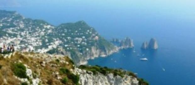 Capri, vista dei Faraglioni