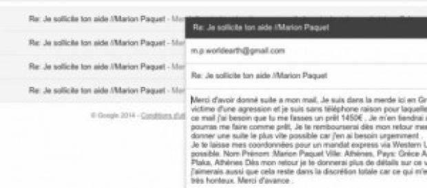 le pirate essayer de persuader tous les contacts