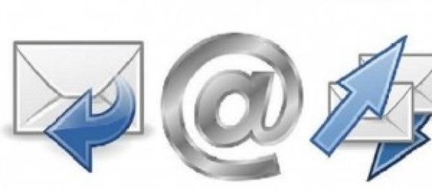 Símbolos cotidianos del correo electrónico